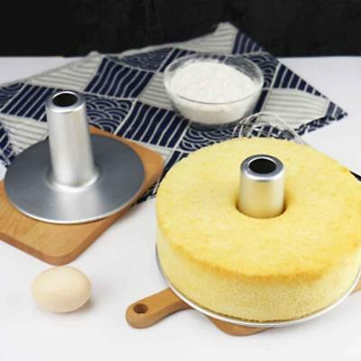 Aluminum Round Hollow Chiffon Cake Mould Angel Food Cake Baking Clean-Creative