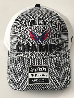 NHL Washington Capitals Male 2018 Stanley Cup Structured Snapback Hat  Heather d58f189ab