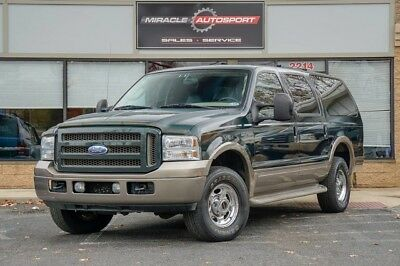 2005 Ford Excursion  82k low mile free shipping warranty diesel 1 owner clean carfax eddie bauer