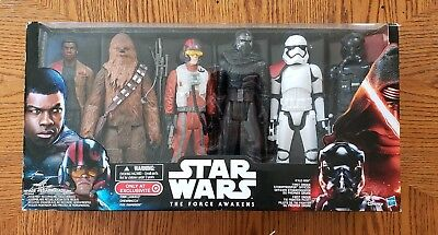 "Star Wars The Force Awakens 12"" Action Figure Box Set 6 Target Exclusive NEW"