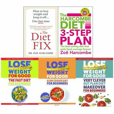 Diet Fix How To Lose Weight For Good Harcombe 5 Books Collection Set Brand NEW
