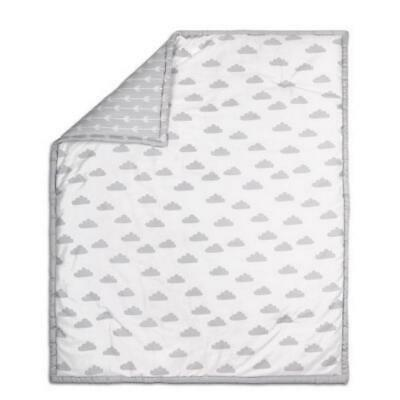 The Peanut Shell Cloud Quilt (Grey) Free Shipping!