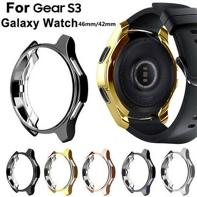 For Samsung Gear S3 Classic 46mm Slim Silicone Watch Case Cover Skin Protector