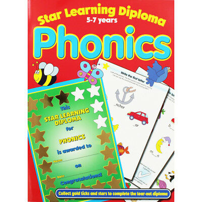 Star Learning Diploma - Phonics - 5-7 Years (Paperback), Children's Books, New