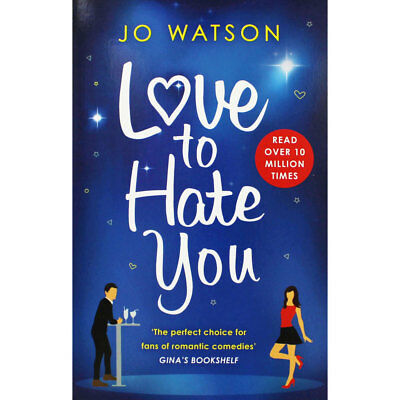 Love to Hate You by Jo Watson (Paperback), Valentines, Brand New