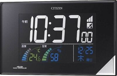 CITIZEN Also Use Wall and Bracket Digital Clock + Multifunction Japan Tracking