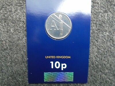Angel of the North 10p. Letter A. Great British Coin Hunt##107