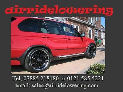 BMW X5 / X6 / 7 Series wagon, Rear Only, Lowering Links REAR KIT ONLY. (2 Links)