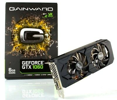 Gainward GeForce GTX 1060 6GB GDDR5 192bit HDMI DVI DisplayPort gaming card