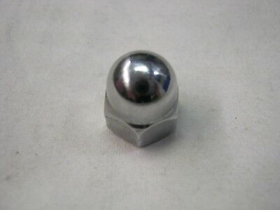 Lambretta / Vespa 8Mm Domed Wheel Nut Chrome Set Of 5