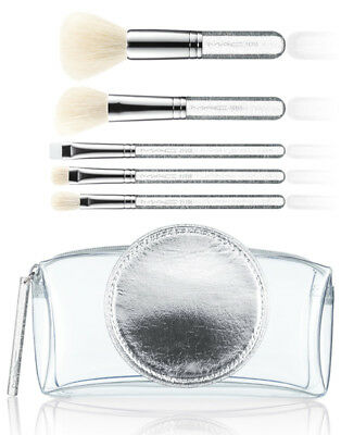 MAC Brush Kit - Special Edition - Make it Perfect -  5 Make Up Pinsel & Tasche