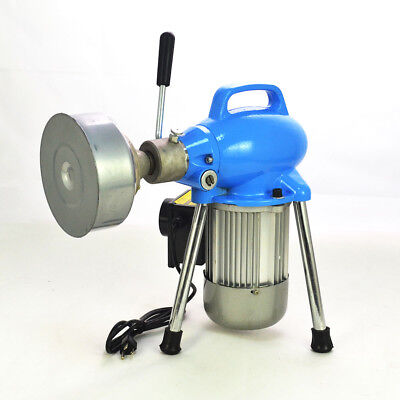 """500W Dia. 3/4""""~4"""" Sectional Electric Pipe Drain Cleaner Cleaning Machine IP44"""