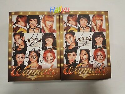 "AOA ""Wanna Be"" Vol.2 -  Autographed(Signed) Promo Album"