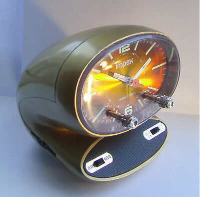 Vintage - Retro - Impex / Rhythm - Space Age - Radio / Alarm Clock