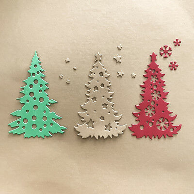 Christmas tree Design Metal Cutting Dies For DIY Scrapbooking Card Paper Albu FB