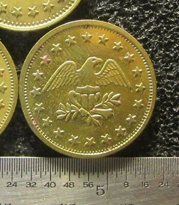 1) A NJ Hospital Parking Token - Eagle with Stars - No Cash Value - Coin