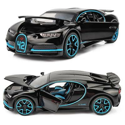 1:32 For Bugatti Veyron Model Toy Diecast Car Collection Alloy Gifts light&sound