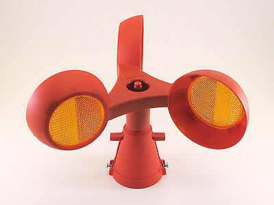 Roto-Lite Reflector - Rotating Safety Beacon