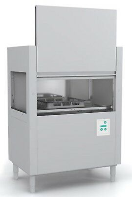 "Jet-Tech FX-44 Conveyor Commercial Dishwasher High-Temp 44"" single tank 150-210"