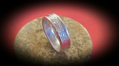 Game Of Thrones Coin of the Faceless Man Pure .999 Silver Ring, Valar Morghulis!