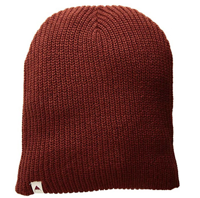 c6ed8128dbe New Burton All Day Long Winter Beanie Brick Red Snowboarding Skull Cap Ski  Hat