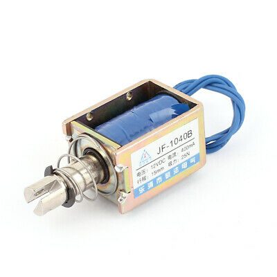 JF-1040B DC12V 400mA Empuje 25N/15mm Electromagneto solenoide marco abierto