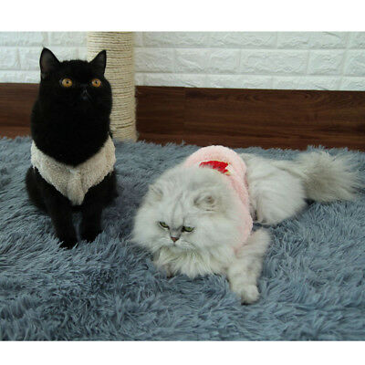 Pet Cat Coral Velvet Clothes Winter Outwear Pet Baby Dog Puppy Costumes