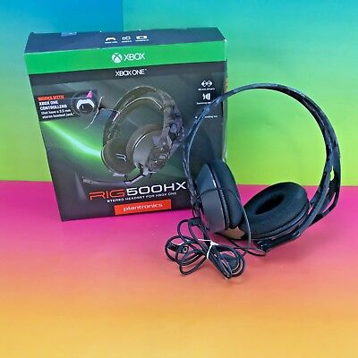 Plantronics Rig 500 HX Lightweight Swappable Gaming Headset for Xbox One #hede4