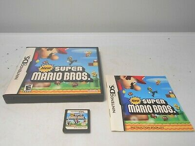 NEW SUPER MARIO Bros For Nintendo DS DSi 3DS 2DS Game Only 5E