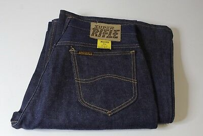SUPER RIFLE JEANS - W34x36 NAVY