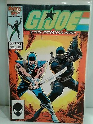 G.I. Joe, A Real American Hero #46 (APR Marvel)