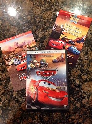 Cars (DVD, Widescreen) Authentic Disney US Release