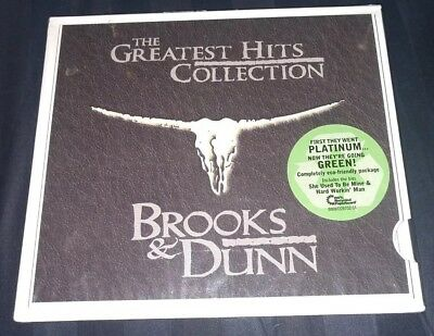 BROOKS & DUNN: The Greatest Hits Collection (CD, 2008) NEW SEALED FREE SHIPPING