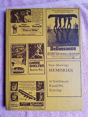 1973 Southside High School Southerner Yearbook Muncie Indiana