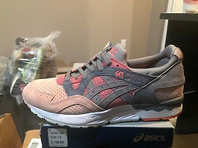 sale retailer ca687 094f6 ASICS GEL LYTE 5 V Aluminum White Suede Orange Gray Cream ...