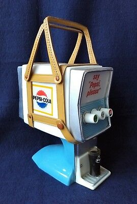 60's Vintage Pepsi Cola Soda Fountain Dispenser Novelty Transistor Radio Japan