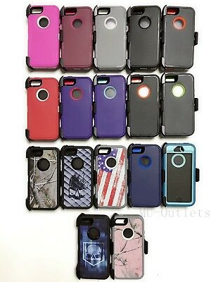 Case Cover For iPhone 5/5S/SE With (Clip fits Otterbox Defender series)