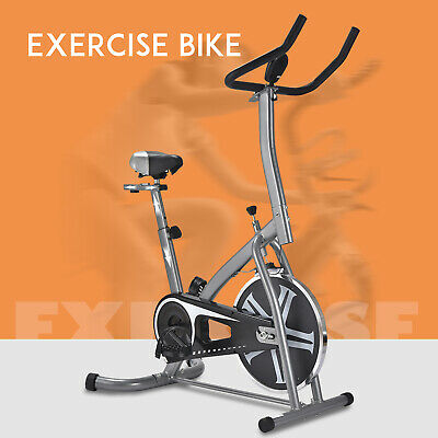 Aluminum Stationary Exercise Spinning Bike Bicycle Cardio Workout Fitness 2Color
