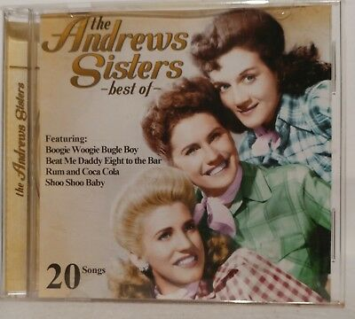 The Andrews Sisters - best of -  CD