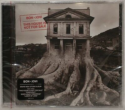 Bon Jovi This House Is Not For Sale CD 2017 UNOPENED - BRAND NEW !