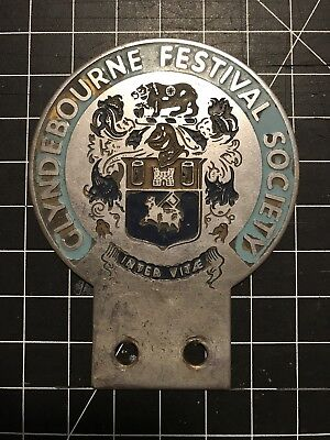 Cyndebourne Festival Society Badge Auto