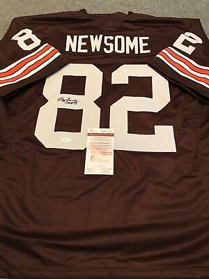 Cleveland Browns Ozzie Newsome Autographed Signed Inscribed Jersey Jsa Coa 4dc79475e