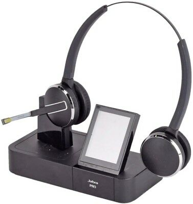 98182cb16aa Jabra PRO 9400BS Wireless Touschscreen Headset Charger Dock Station w/ Headset #2