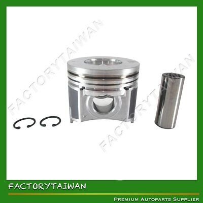 Pistons Set STD 87mm for KUBOTA V2607 (100% TAIWAN MADE)