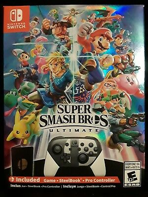 Super Smash Bros Ultimate Limited Special Edition - Nintendo Switch Brand New