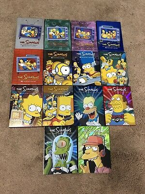 14 Complete Seasons of The Simpsons