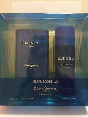 Blue Essence Pepe Jeans London Colonia Toilette 100 Ml + Desodorante 200 Ml