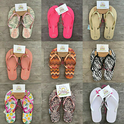 Ladies Primark Flip Flops Beach Shoes Sandals Womens Basic Holiday Summer Travel