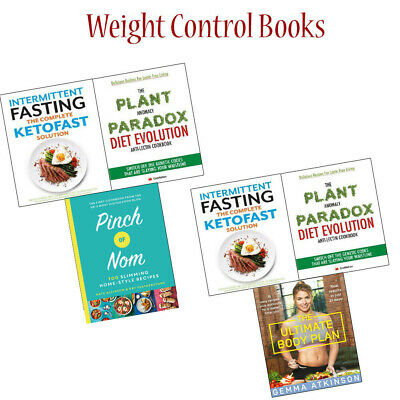 Pinch of Nom and Intermittent Fasting Collection Books Set Plant Anomaly NEW
