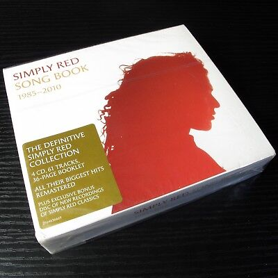 Simply Red: Song Book 1985-2010 UK 4xCD The Definitive Collection Fat Box #0708*